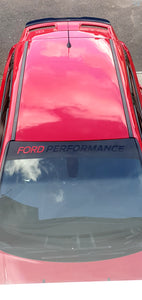 Ford Performance Sun Strip