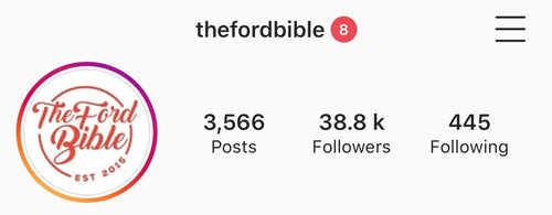 TheFordBible Instagram Feature