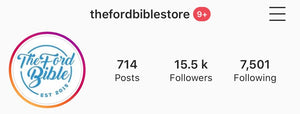 TheFordBibleStore Instagram Feature