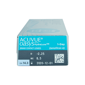 Acuvue Oasys 1-DAY with HydraLuxe - by Johnson & Johnson