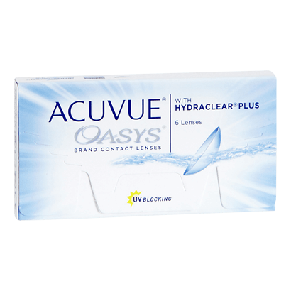 Acuvue Oasys - by Johnson & Johnson