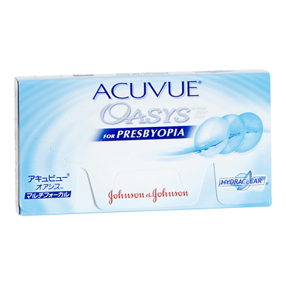 Acuvue Oasys for Presbyopia - by Johnson & Johnson