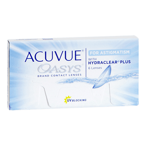Acuvue Oasys for Astigmatism - by Johnson & Johnson