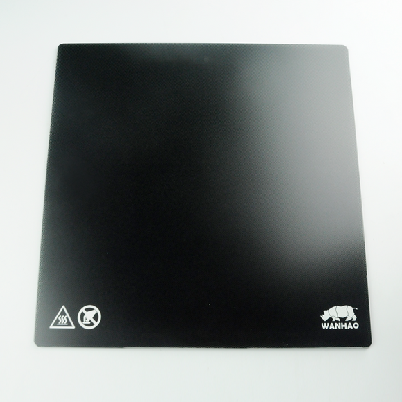 WANHAO D9 Carbon Crystal Glass Plate - Wanhao University Store