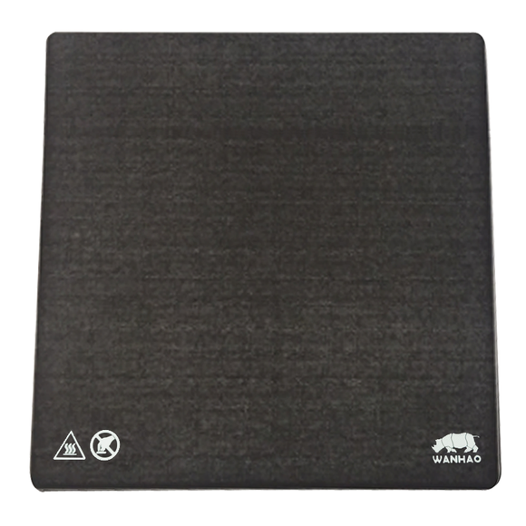 WANHAO D9 Magnetic Mat (Use With Carbon Crystal Glass Plate) - Wanhao University Store