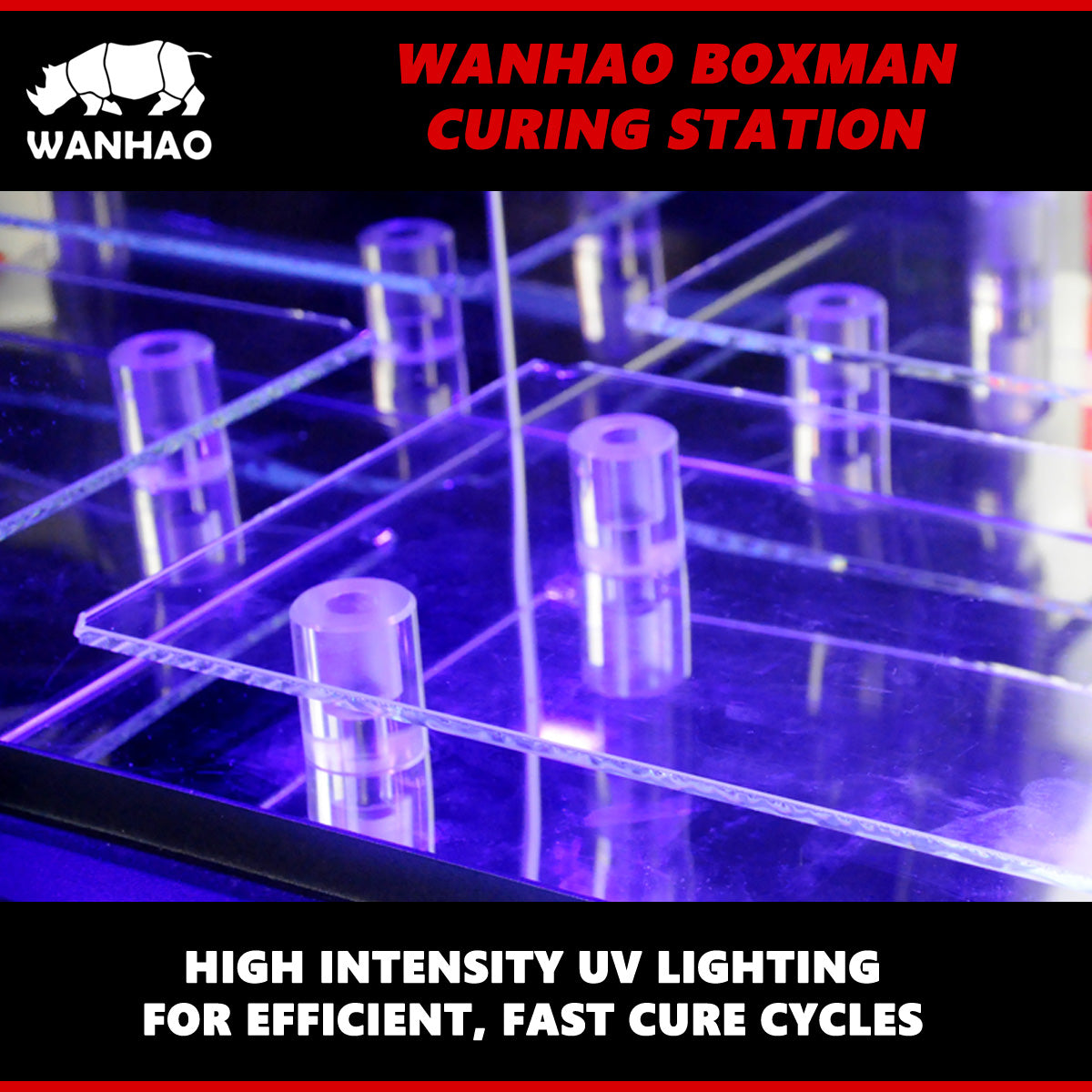 Wanhao Boxman Curing Station – Wanhao University Store