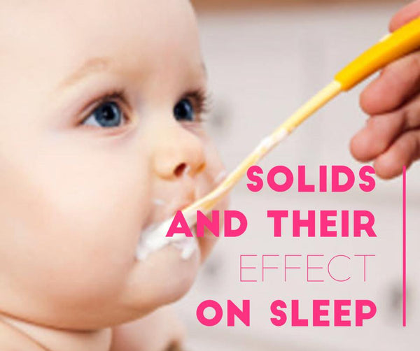 Can solids affect how well your baby sleeps?