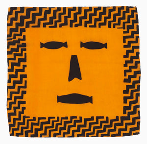 ZigZag Face Silk Flag