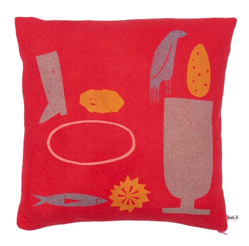 Offerings No.4 Cushion (Multicolour)