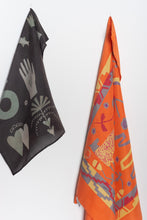 Load image into Gallery viewer, Orange Caucasus Scarf