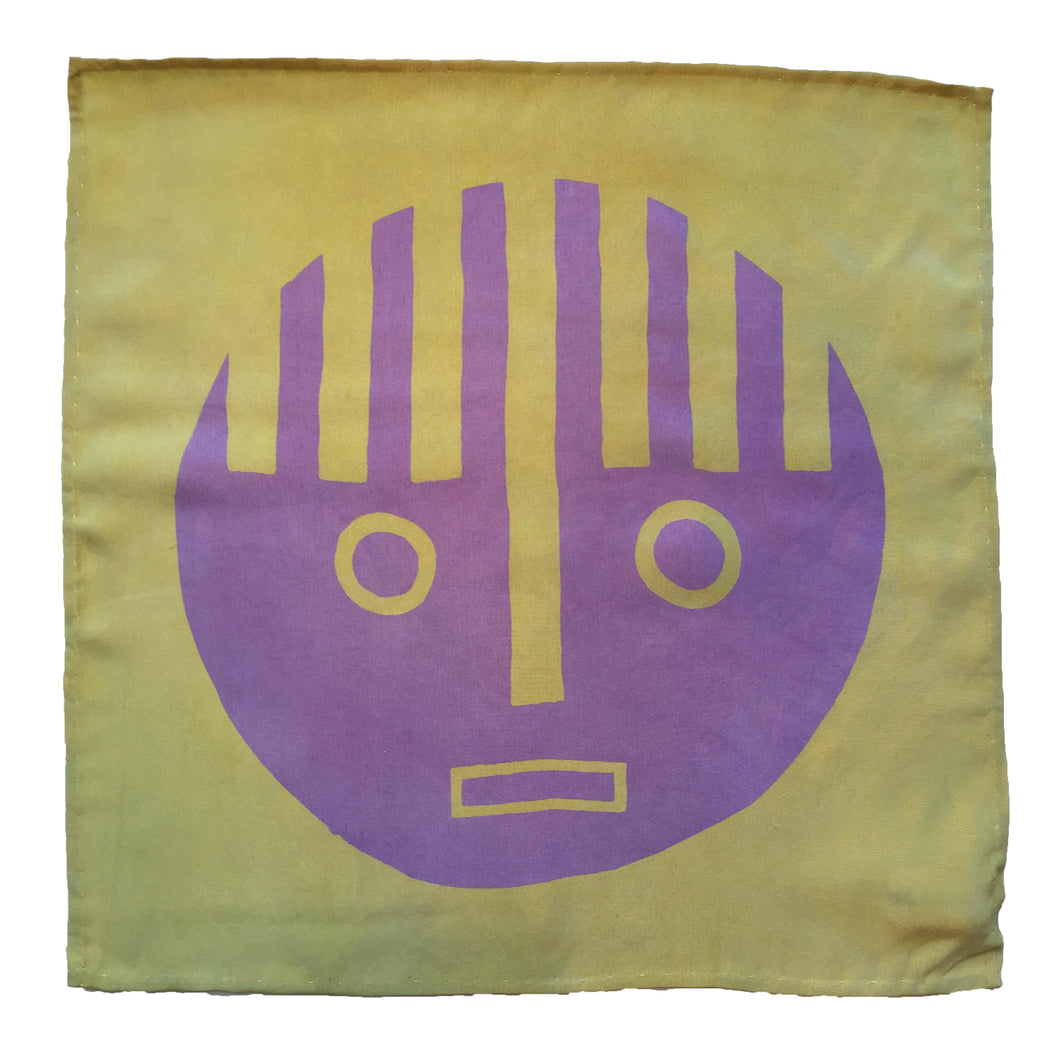 Dot Face Silk Flag