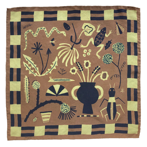 Field Notes Chesnut Silk Scarf