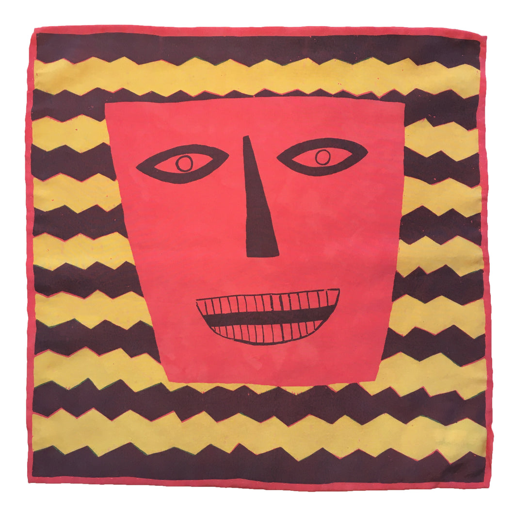 Funny Face Silk Flag