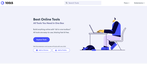 """Build anything online with """"all-in-one toolbox"""". All tools are easy-to-use, blazing fast & free"""