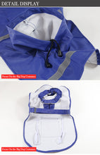Load image into Gallery viewer, Reflective Pet Raincoat Lovin Little Greys -