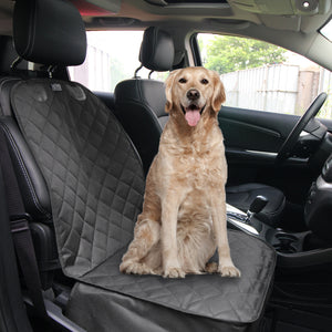 Waterproof Front Car Seat Pet Cover Lovin Little Greys - Black / 106x50cm / China