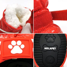 Load image into Gallery viewer, Waterproof Snow Dog Shoes - Anti Slip Lovin Little Greys -