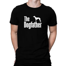 Load image into Gallery viewer, The Dogfather Greyhound Tee Lovin Little Greys -