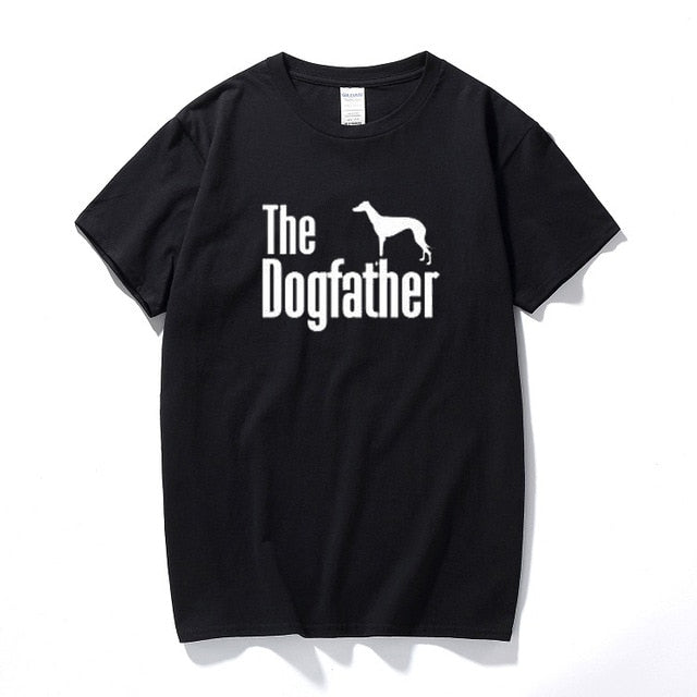 The Dogfather Greyhound Tee Lovin Little Greys - Black / XS