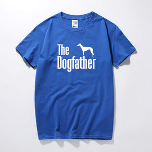The Dogfather Greyhound Tee Lovin Little Greys - Blue / S