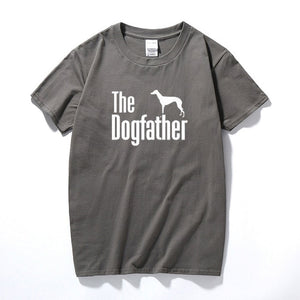 The Dogfather Greyhound Tee Lovin Little Greys - Dark Gray / S