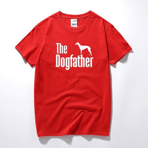 The Dogfather Greyhound Tee Lovin Little Greys - Red / XS