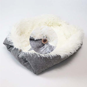 Sleeper Pet Lounger Lovin Little Greys - White / 61CMx51CM