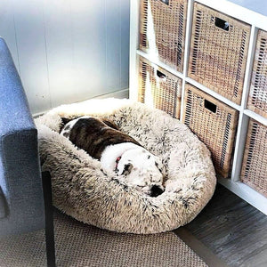 Luxury Calming Pet Bed with Removable Cover Lovin Little Greys -