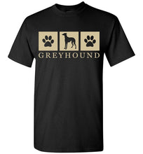 Load image into Gallery viewer, Summer Silhouette Greyhound Tee Lovin Little Greys - Black / M