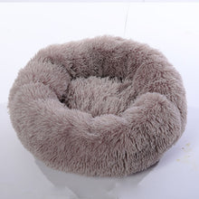 Load image into Gallery viewer, Luxury Calming Pet Bed with Removable Cover Lovin Little Greys - Coffee / OD 60cm