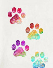 Load image into Gallery viewer, Rainbow Paw Print Summer Tee Lovin Little Greys - 13453 / XL