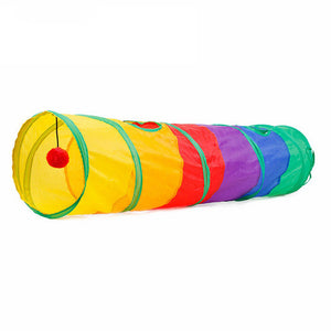 Rainbow Pet Tunnel Toy Lovin Little Greys - Default Title