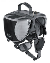 Load image into Gallery viewer, Outdoor Saddle Backpack Lovin Little Greys - Black / S