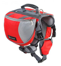 Load image into Gallery viewer, Outdoor Saddle Backpack Lovin Little Greys - Red / S