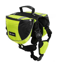 Load image into Gallery viewer, Outdoor Saddle Backpack Lovin Little Greys - Green / S
