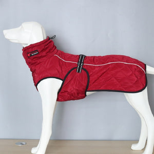 Warm Weatherproof Dog Jacket Lovin Little Greys -