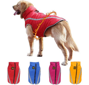 Reflective Winter Dog Coat - for large sizes Lovin Little Greys -