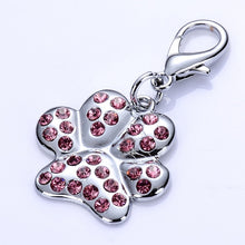 Load image into Gallery viewer, Rhinestone Bone Shape Dog Tag Lovin Little Greys - Red / S