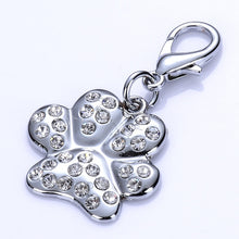 Load image into Gallery viewer, Rhinestone Bone Shape Dog Tag Lovin Little Greys - Gray / S