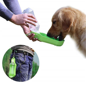 Portable Plastic Pet Water Bottle Lovin Little Greys -