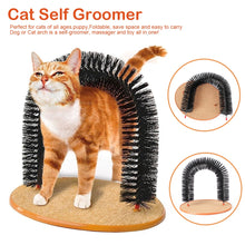 Load image into Gallery viewer, Self Groomer, Back Scratching Brush for Cats Lovin Little Greys -