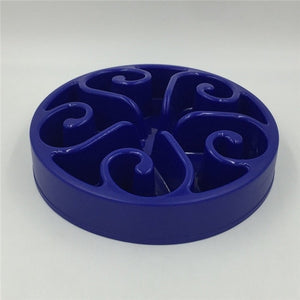 Slow Feeding Dog Bowl Lovin Little Greys - Dark Blue