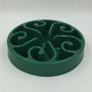 Slow Feeding Dog Bowl Lovin Little Greys - Dark Green