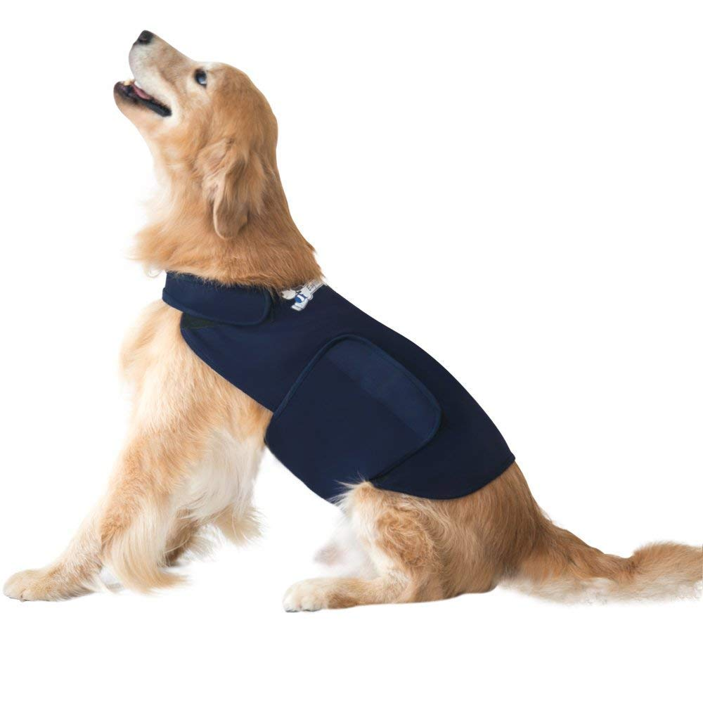 Stress Thundershirt Calming Vest Lovin Little Greys - Navy Color / L