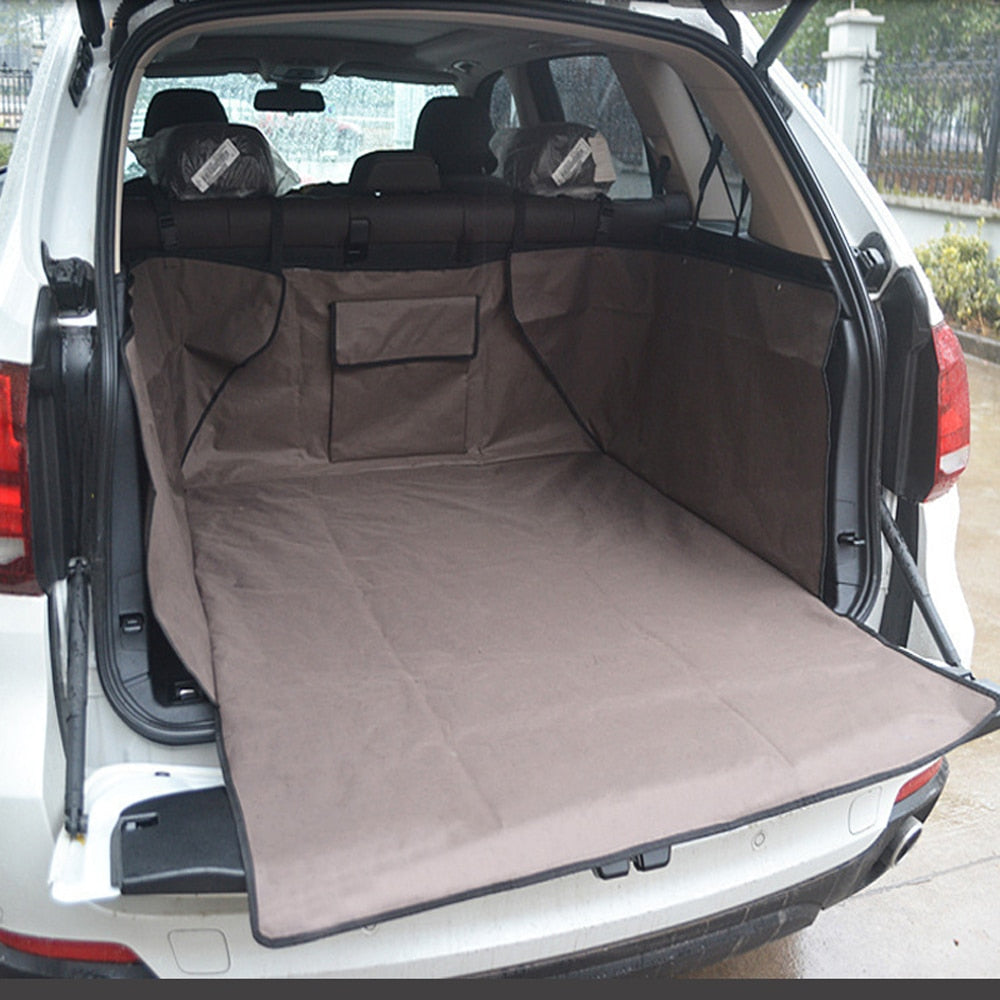 Oxford Pet Mat for Car Trunk Lovin Little Greys - black / XL