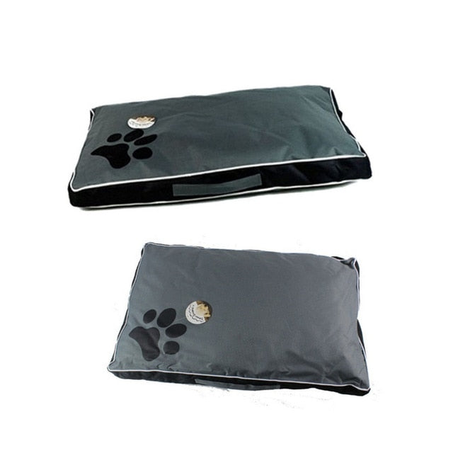 Waterproof Lounger Pet Bed Lovin Little Greys - Black / (S)70X45X6CM