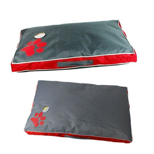 Waterproof Lounger Pet Bed Lovin Little Greys - Red / (S)70X45X6CM
