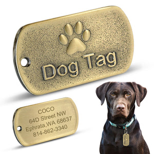 Personalised Stainless Steel Dog ID Tag Lovin Little Greys -