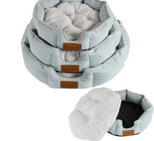 Load image into Gallery viewer, Soft Lamb Cashmere Pet Nest Bed Lovin Little Greys -