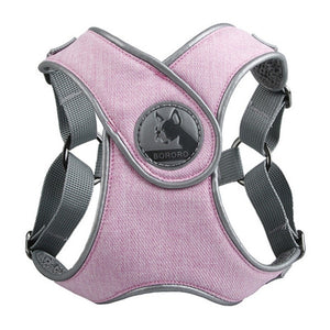 Sport X5 Dog Harness Lovin Little Greys - Pink / S 44-50cm chest